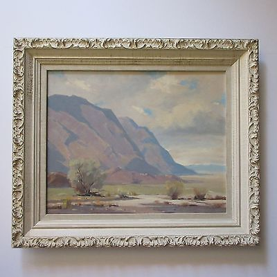 Harold Walsh Early California Plein Air Painting Landscape Listed Desert Vintage