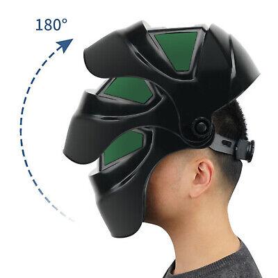 Large View True Color Solar Welder Helmet Auto-darkening Welding Helmet Cap