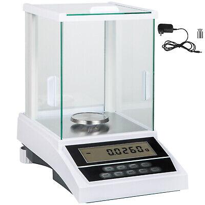 Analytical Balance Lab Scale 120g X 0.0001g 0.1mg Wwindshield Digital Precision