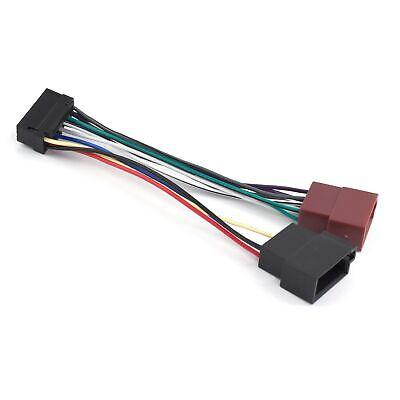 Cable adaptador JVC Cable de conexión ISO Cable de conexión de radio...