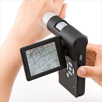 Sanwa Direct digital microscope 300 times 5 million pixels 400-CAM025 F/S JAPAN