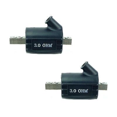 2PC Dynatek Style 12V Ignition Coil DC3-1 DSK6-2 Single Output 3 Ohm CMHD6-2