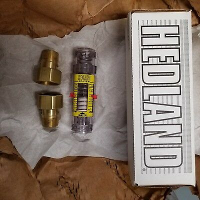 Hedland Ez-view Flow Meter H625-016 New H625016