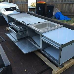 BRAND NEW STAINLESS STEEL CAMPER TRAILER SLIDE OUT KITCHEN Dingley Village Kingston Area Preview