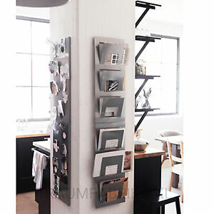 zeitungshalter wand zeitungsst nder halter ebay. Black Bedroom Furniture Sets. Home Design Ideas