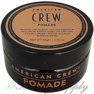 American Crew Pomade 1.75 oz Medium Hold with High Shine