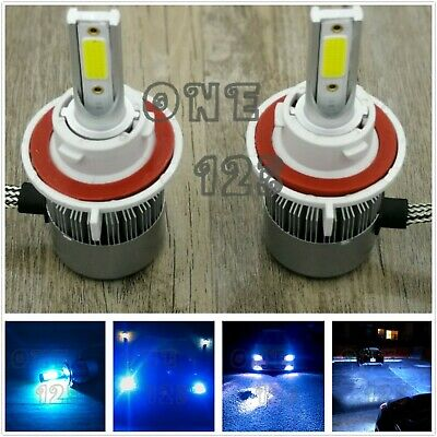 Conversion Kit H13 Bulb - H13 9008 8000K ICE BLUE CREE LED Headlight Bulb Conversion Kit High Low Beam 55W