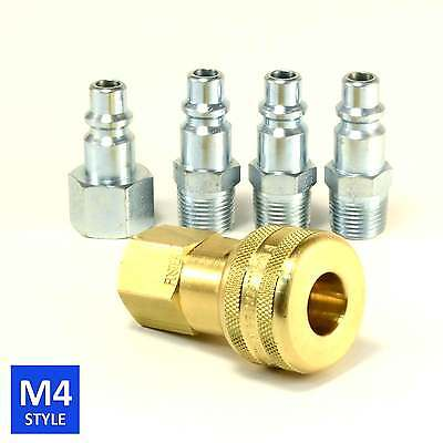 Foster 4 Series Brass Quick Coupler 38 Body 38 Npt Air Hose And Water Fittings