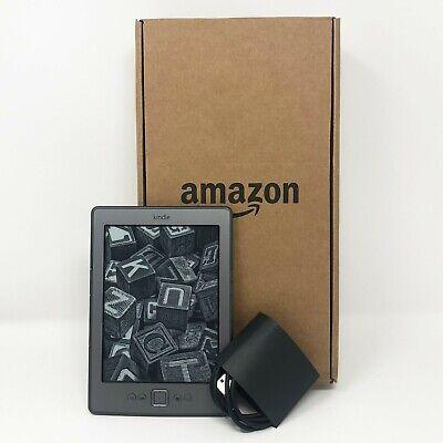"Amazon 6\"" Kindle (4th Generation) - 2GB - Wi-FI + 730hr Battery LIfe - Grey"