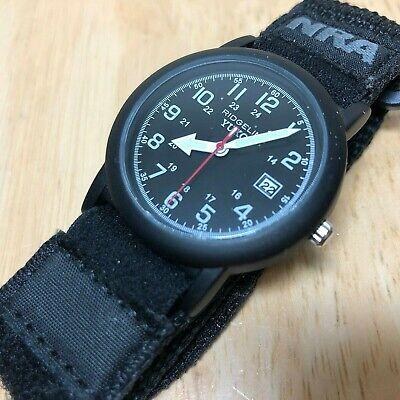 Unused RIDGELINE YUKON NRA Men Military Style Quartz Watch Hour~Date~New Battery