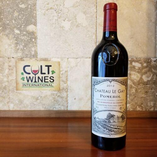 WE 95 pts! 2012 Chateau Le Gay Bordeaux wine, Pomerol