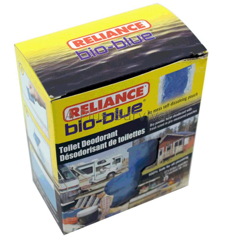 12 Pack Bio-Blue Toilet Deodorizer Chemicals for Portable Honey Bucket Toilets