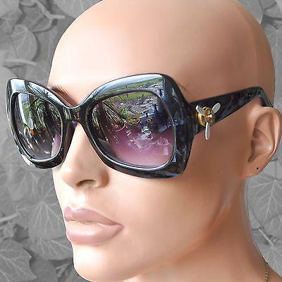 Sonnenbrille zum Steampunk-Style verziert mit Zahnrädchen + Propeller