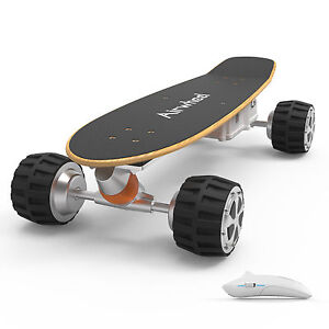 Airwheel M3 Electric Skateboard Green Power Scooter 4 Wheels with remote control
