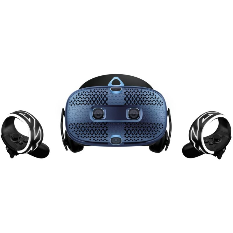 HTC VIVE COMOS W/ FOUR 2300mAh RECHARGEABLE BATTERIES and BATTERY PACK