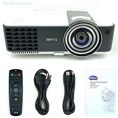BenQ MX819ST 3000 ANSI Lumens XGA SmartEco Short Throw 3D Projector Under 7000hr