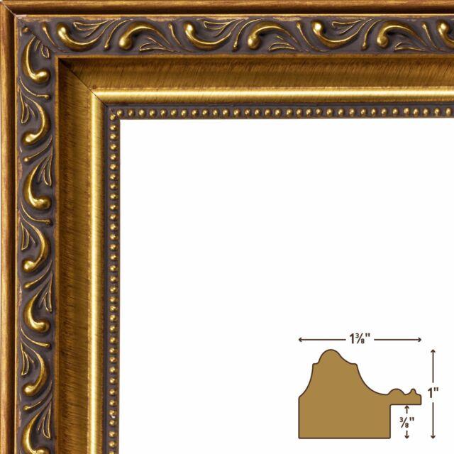 Craig Frames Inc. 1.33 Wide Ornate Picture Frame 6301 Size 11 X 14 ...