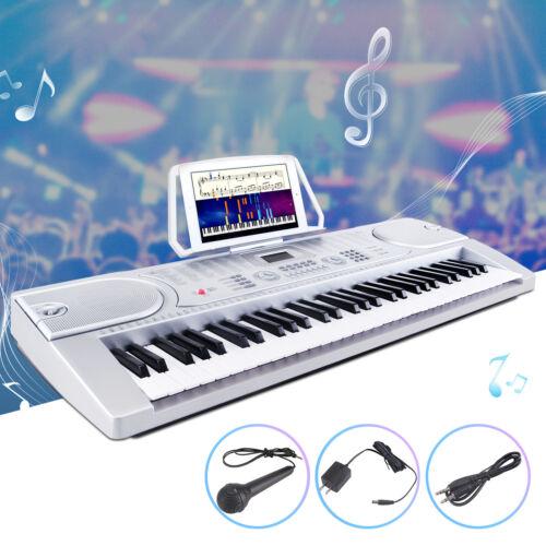 61 Key Music Electronic Keyboard Digital Piano Organ with Mi