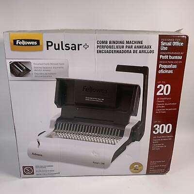 Fellowes Pulsar Comb Binding Machine
