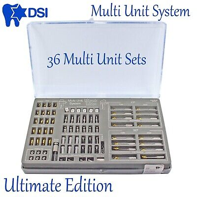 Dsi Dental Implant Abutment Ultimate Edition Multi Unit System All In One Kit