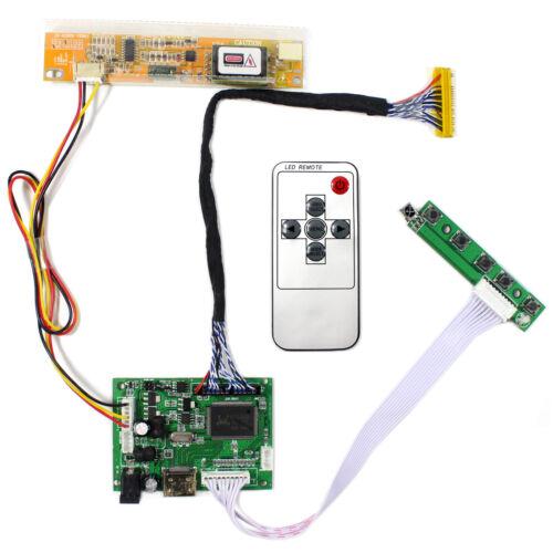 "HD MI Audio LCD Controller Board  For 15.4"" 17"" LP154WP1 B170PW06 1440x900 LCD"