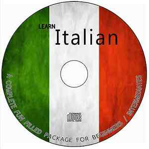 LEARN HOW TO SPEAK ITALIAN COMPLETE LANGUAGE COURSE AUDIO TUTORIAL GUIDE ON CD