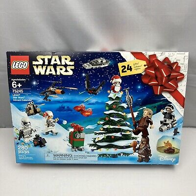 LEGO Star Wars Advent Calendar Galactic Christmas Building Holiday Set 75245 NEW