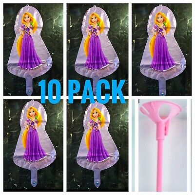 Tangled Rapunzel Disney birthday party balloons decoration favor centerpiece ](Tangled Decorations)