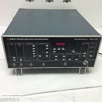 Egg Princeton Applied Research Parc Vsm Controller Model 4500 Sweep Temperature