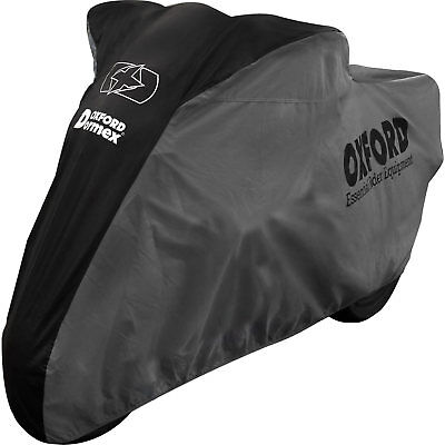 Oxford Dormex Indoor Motorcycle Cover Large Protective Dust Sheet Cruiser Bike