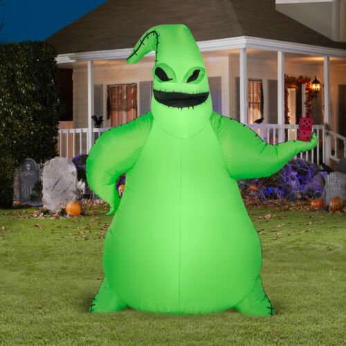 ⭐️NEW⭐️ 2020 Nightmare Before Christmas Airblown Inflatable Oogie Boogie 5ft