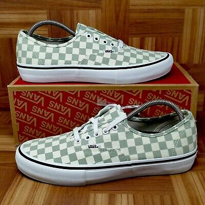 dd51857f65  NEW  Vans Authentic Pro (Men s Size 10) Checkerboard Skate Sneakers Desert  Sag