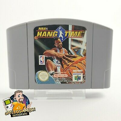 "Nintendo 64 Spiel "" NBA Hang Time "" N64 / PAL NOE 