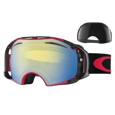 Brand New Authentic Oakley OO7045-29 Snow Goggles 02 XL Chemist Fired Brick