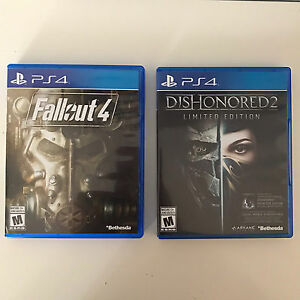 Fallout 4 & Dishonored 2 PS4