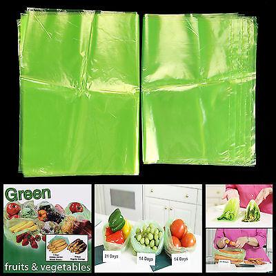 20PCS/Bag Green Storage Bags Fresh Greenbags Produce Fruit Kitchen Gadget Green Bag Fruit