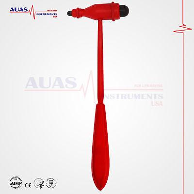 Tromner Neurological Reflex Hammer Diagnosticmedical 23.5 Cm New Red