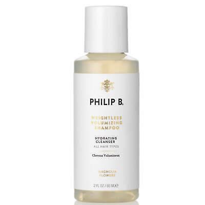 Philip B Weightless Volumizing Shampoo hydrating cleanser 2 fl.oz.