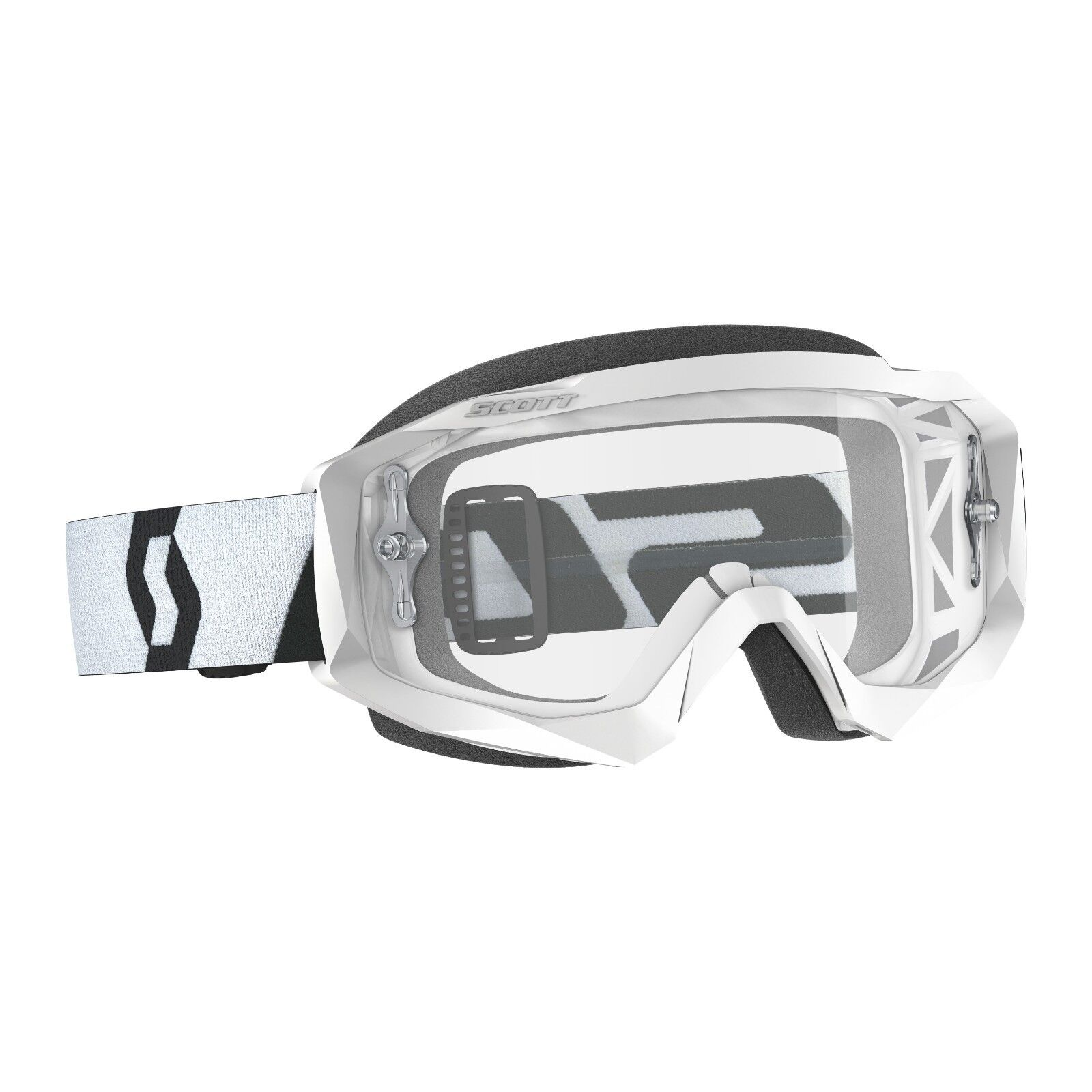 Rip n roll yellow tear off replacement lens for Scott Hustle//Tyrant bike goggles