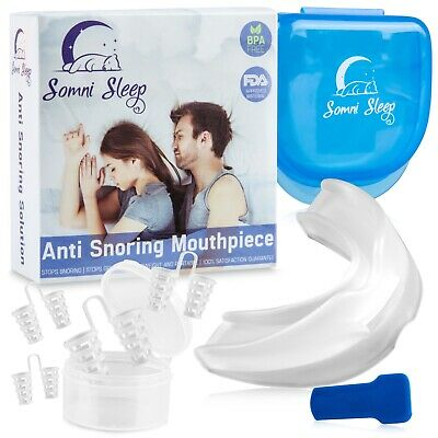 Best Anti Snoring Device, Snore Stopper Mouthpiece - Snoring Solution, Sleep
