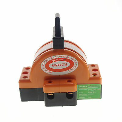 Two Pole Double Throw Knife Disconnect Switch 60a