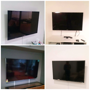 """TV Wall installations 50-100"""" includes Free Bracket"""