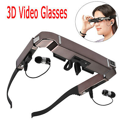"80"" Android 4.4 Smart 3D VR Videobrille WiFi Bluetooth Virtuelle + 5MP HD Kamera"