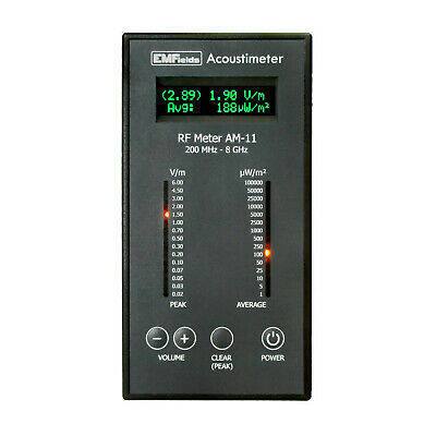 Acoustimeter Am11 Radio Frequency Rf Detector Radiation Emf Meter 0.28ghz