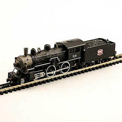 MODEL POWER 87638 N SCALE Missouri-Kansas-Texas MKT 2-6-0 Locomotive, NEW