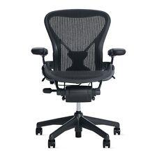 Aeron Chair Size A (POSTURE FIT) Black Classic - OPEN BOX DWR Herman Miller