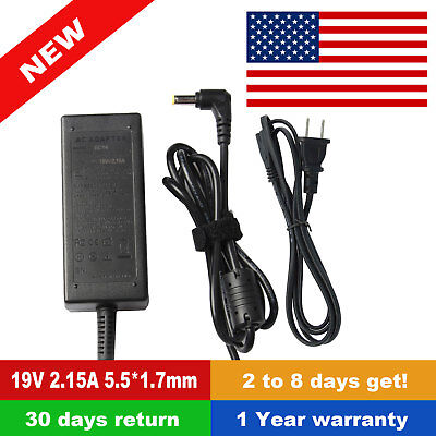 Acer Aspire E5-575 E5-575G E5-575T E5-575TG Ac Adapter Charger & Power Cord 40W