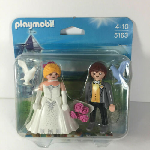 PLAYMOBIL 5163 Bridal Couple Bride & Groom  Newlyweds