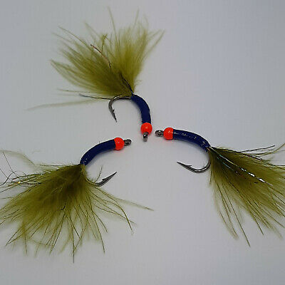 DRY FLIES TROUT NYMPHS **AWESOME** 1 DZ Q-4 KLINKHAMMER