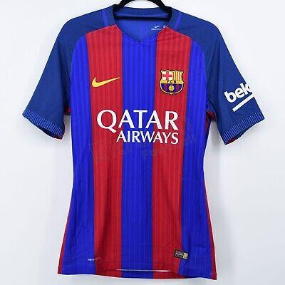 2016-17 Barcelona Player Issue Vapor Match Home Shirt Nike *BNWT* M Jersey